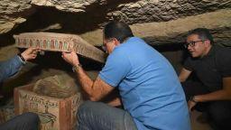 Египет с нова находка на древни саркофази