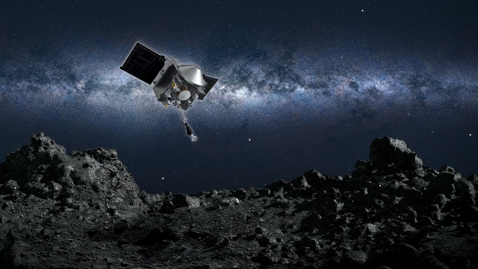 Сондата OSIRIS-REx на НАСА започва двугодишното пътуване обратно към Земята