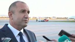 Румен Радев показа теста си на Летище София: Това е пример за активно мероприятие