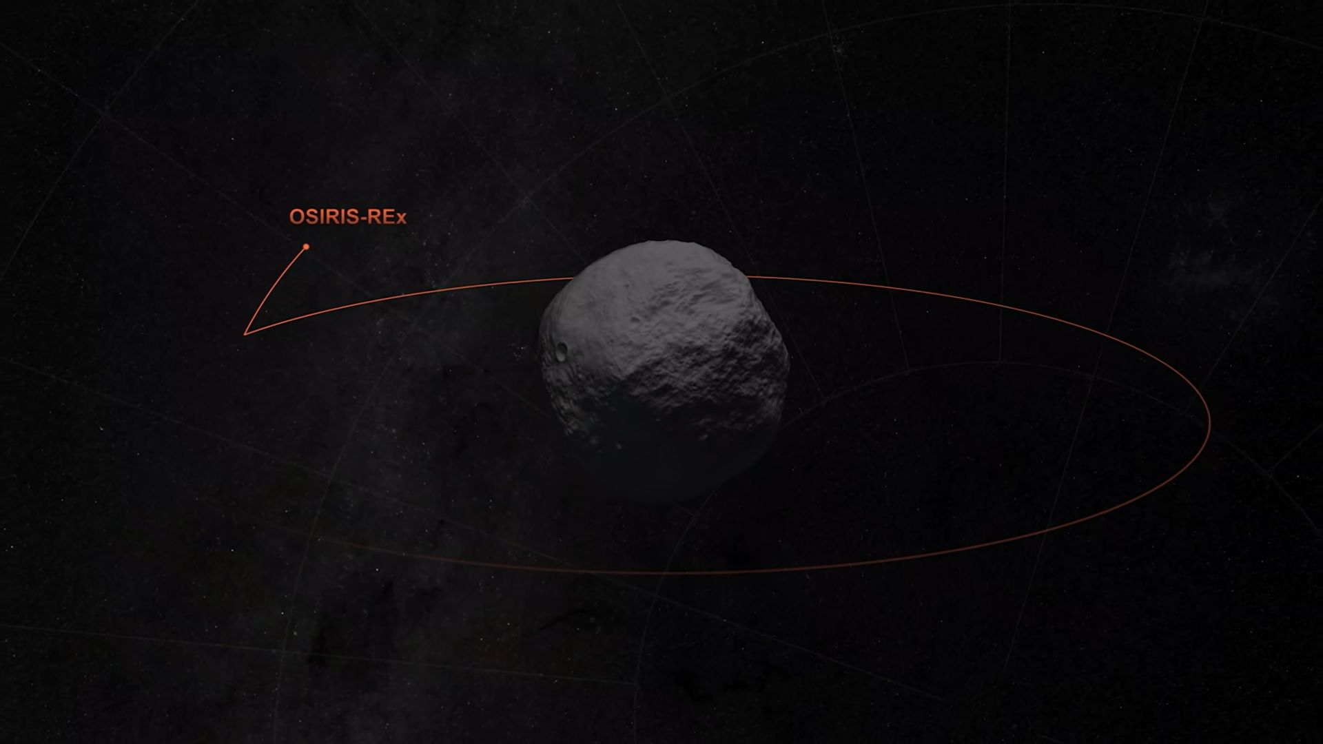 Космически апарат на НАСА взе проба от повърхността на астероида Бену