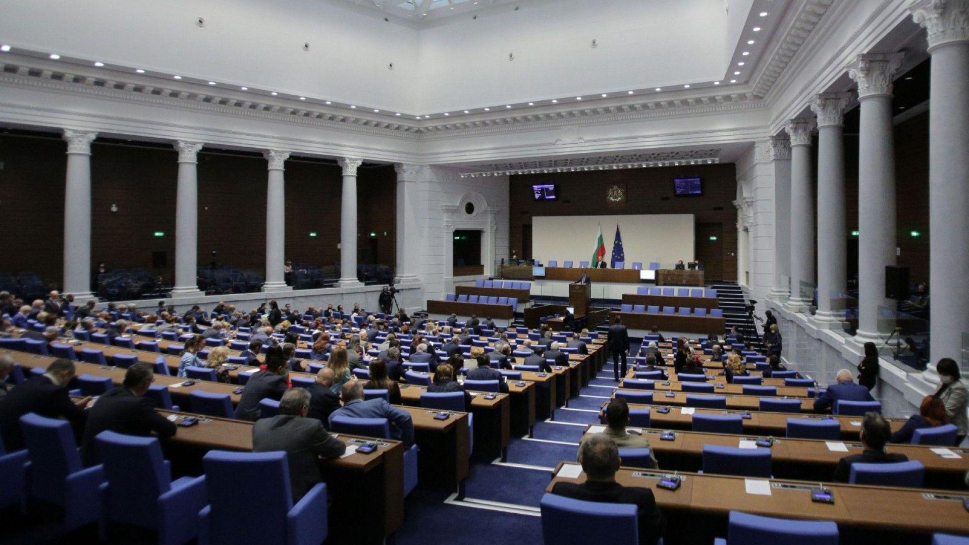 Нов депутат от ГЕРБ зае мястото на Валентин Николов