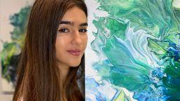 Елия от 4Magic представя първата си изложба със собствени картини