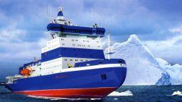 Русия прие на служба най-големия в света ядрен ледоразбивач