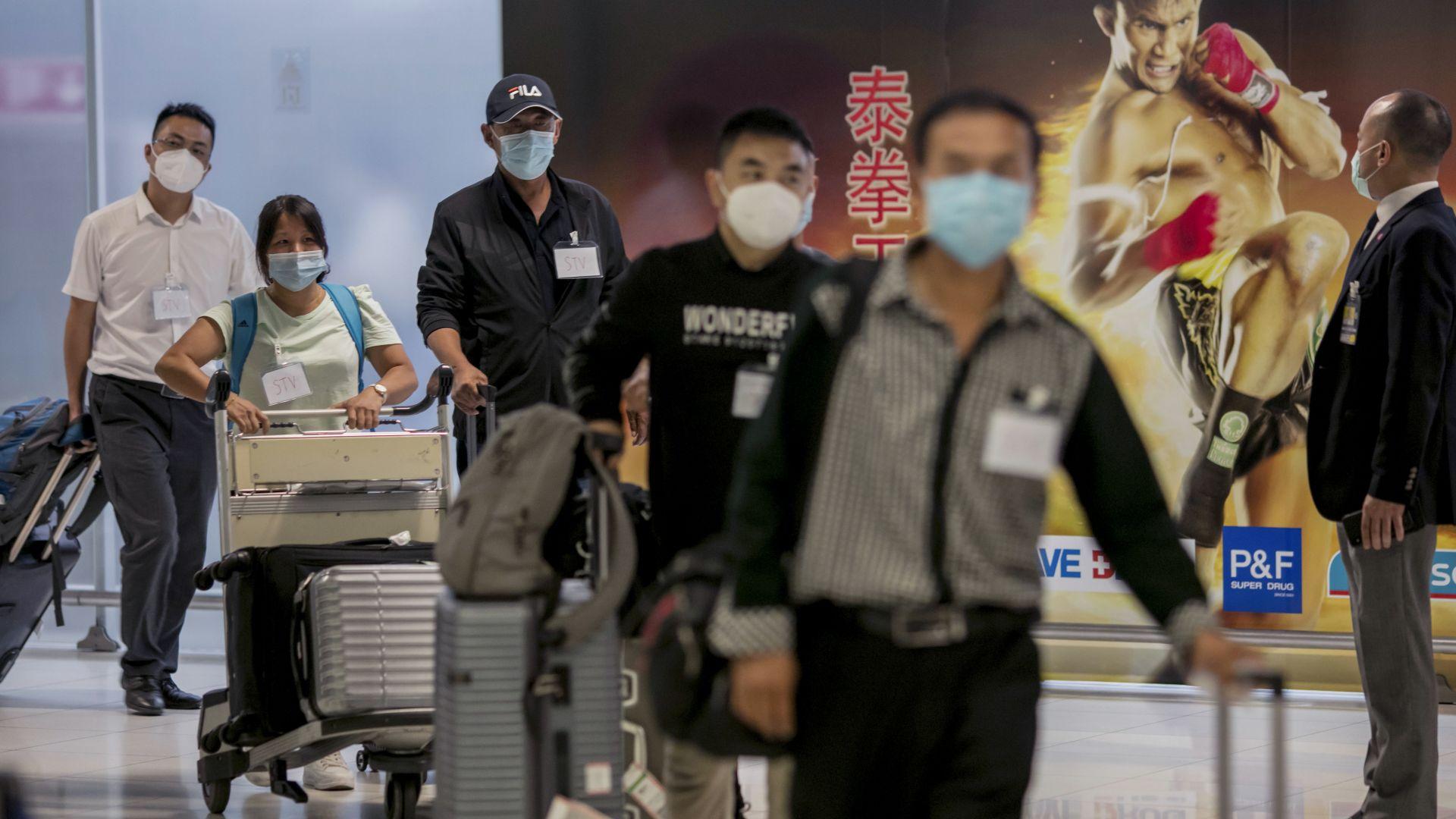 Тайланд посрещна първите чужди туристи от седем месеца