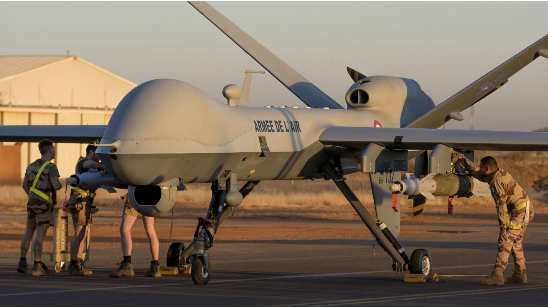 MQ-9 Reaper вече е извършил хиляди бойни мисии