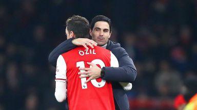 Мениджърът на Арсенал: Колко още шанса трябваше да дам на Йозил?