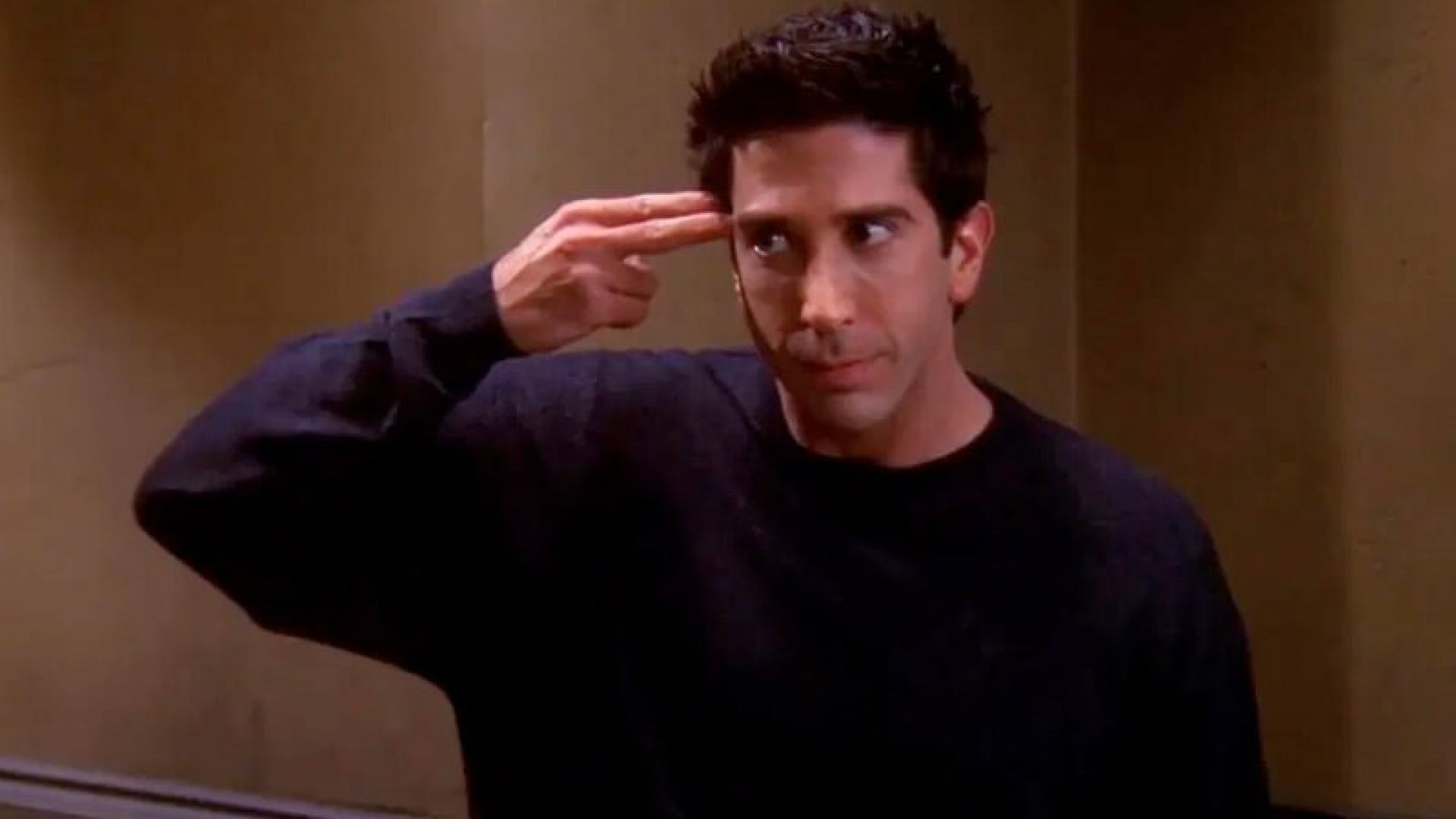 """15 момента от """"Приятели"""", които доказват, че Рос е странна птица"""