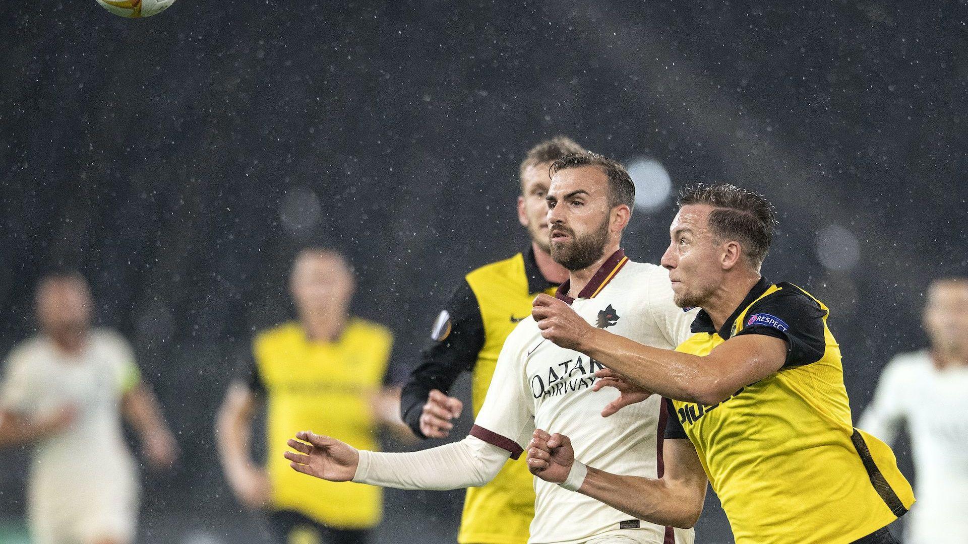 Рома обърна Йънг Бойс за пет минути (ранните резултати от Лига Европа)