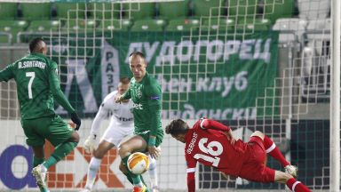 Лудогорец - Антверп 1:0, белгийците с три пропуска, а Десподов се контузи (на живо)