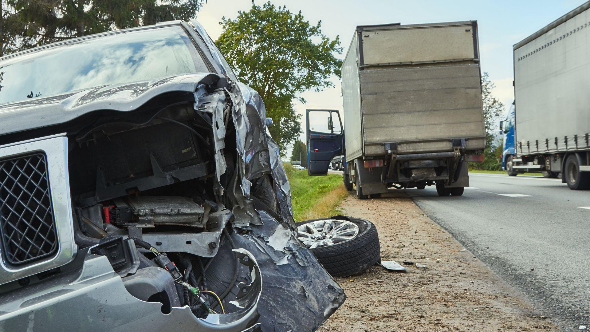 Тежка катастрофа затвори пътя Монтана - Видин, има загинал (обновена)