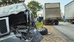 Тежка катастрофа с ранен човек затвори пътя Монтана - Видин