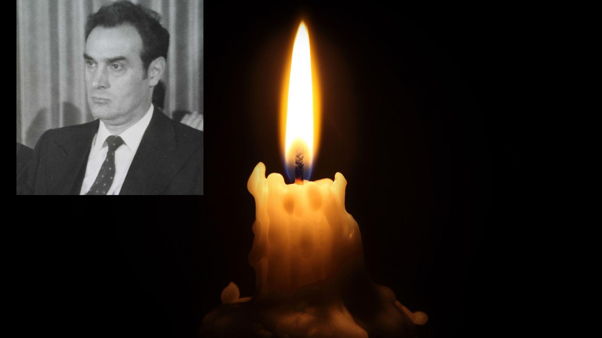 Почина секретарят на ЦК на БКП проф. Стоян Михайлов