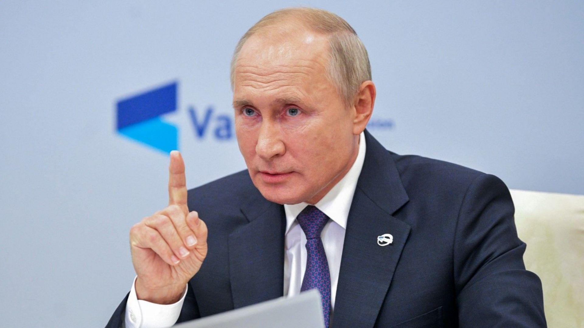 Путин за отравянето на Навални: Ако човек почти умре, не е достатъчно основание за разследване