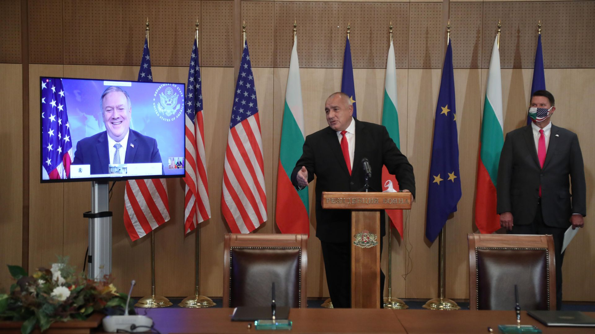 България и САЩ подписаха документи за 5G мрежите и ядрената енергия