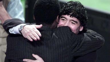 Краля Пеле тъгува за Марадона: Изгубих скъп приятел, ще играем заедно на небето
