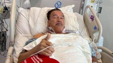 Нова аортна клапа: Оперираха Арнолд Шварценегер
