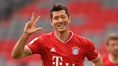 Пет мача и десет гола - нищо не може да спре машината Левандовски