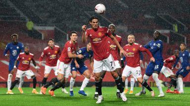 """Много дъжд и никакви голове в дербито на """"Олд Трафорд"""""""