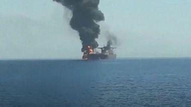 Експлозия на руски танкер в Азовско море, моряци са в неизвестност