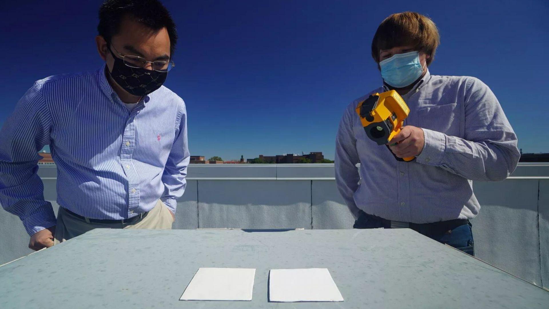 Супербяла боя може да замени климатиците