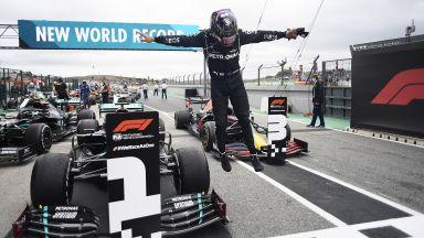 Победа №92 е факт! Люис Хамилтън задмина Шумахер и вече е рекордьор във Формула 1