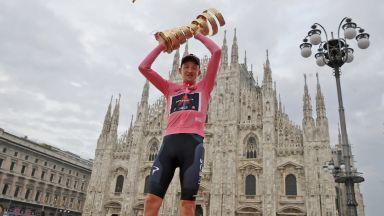 Тео Гиген Харт е големият шампион след най-драматичния финален етап в колоезденето