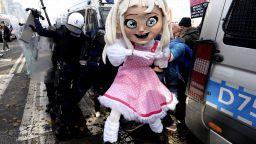 Полякини пренесоха в църквите протестите срещу забраната на абортите