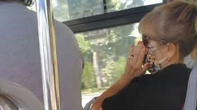 Скандали и шамари в градския транспорт заради маските