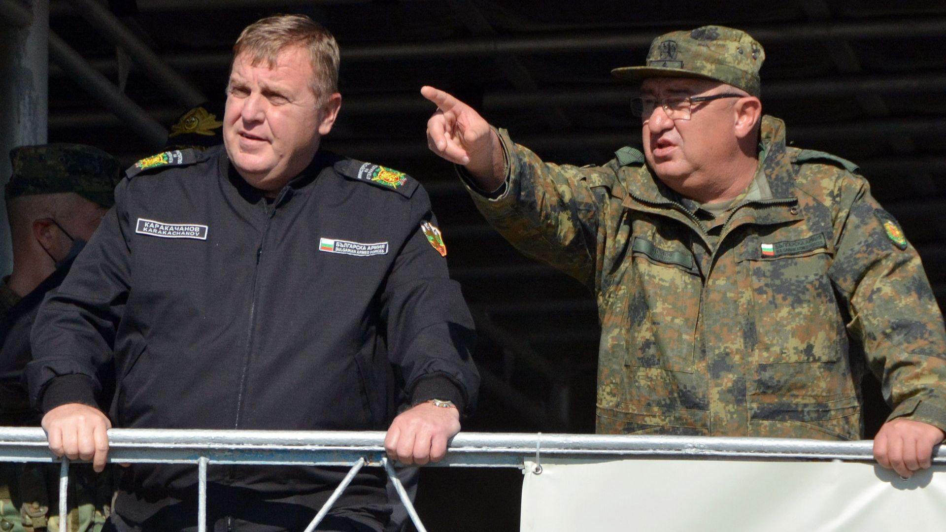 Каракачанов иска ТЕРЕМ да се нагърби с проекта за бойни машини