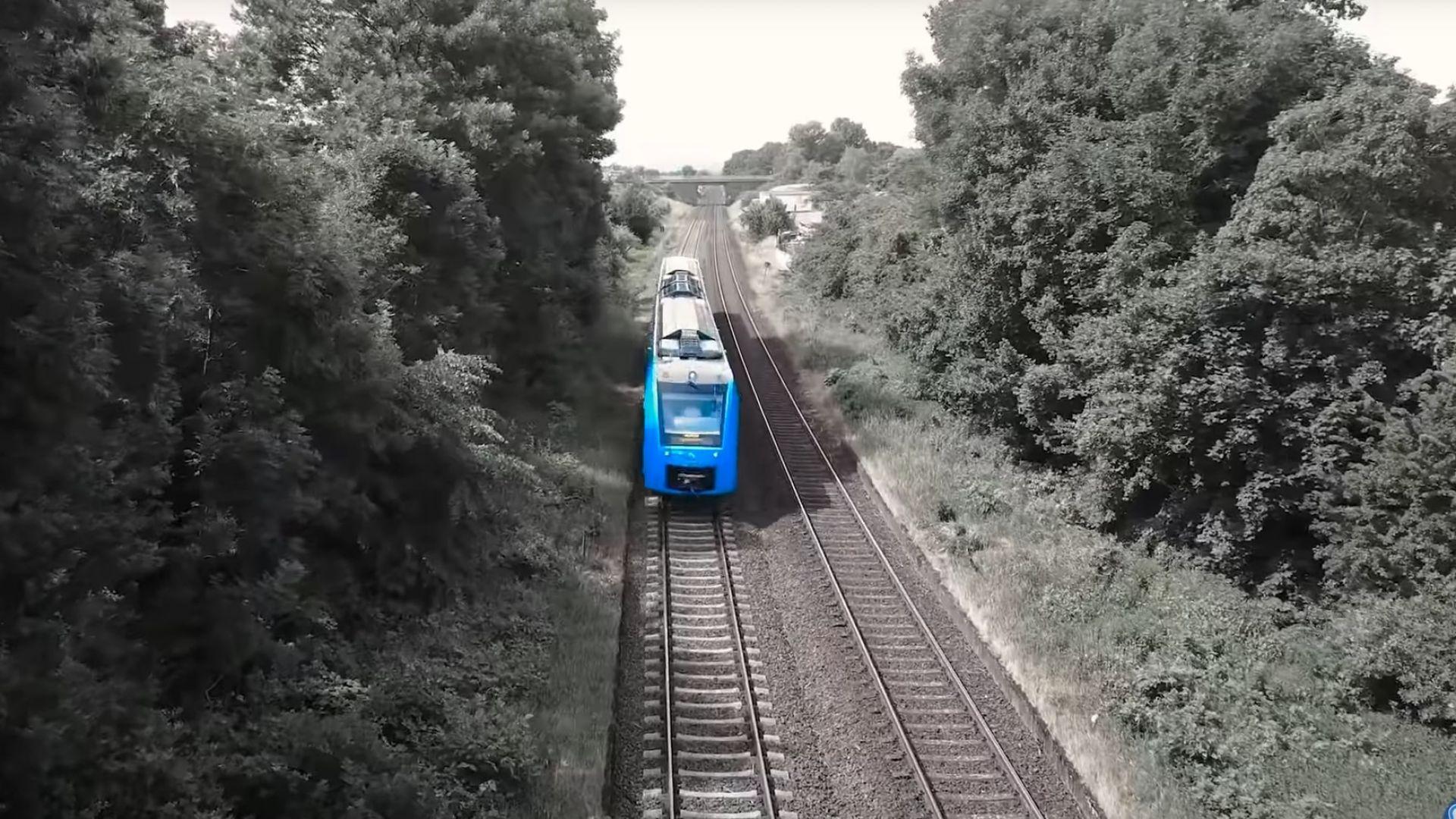 Франкфурт строи станция за влакове, задвижвани от водород