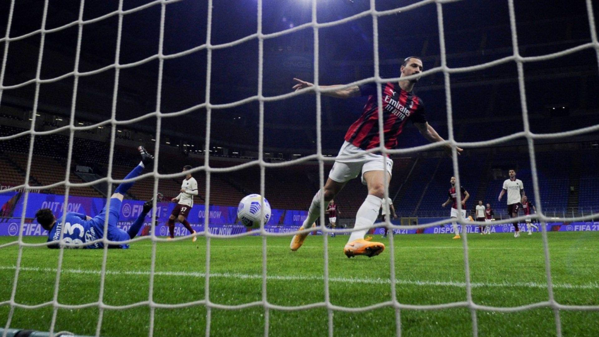Златан е Супермен и на 39, Рома не се даде на Милан само 72 часа преди мача с ЦСКА