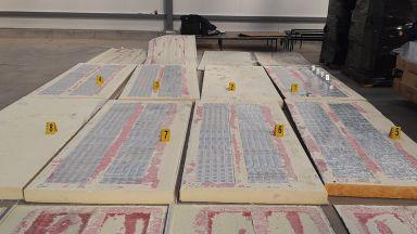 Откриха контрабандни цигари в куриерска пратка с термопанели (снимки)