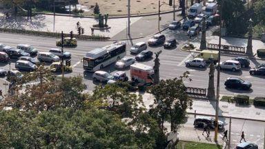 Две катастрофи с линейки в София - едната на Орлов мост