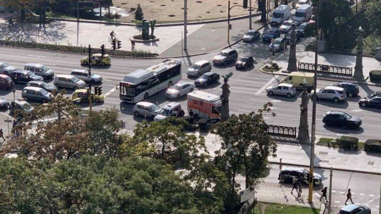 Две катастрофи с линейки са станали в София днес. Първата