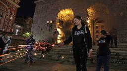 """111-и ден протести: Факелно шествие за децата, починали в """"къщички на ужасите"""" (снимки)"""