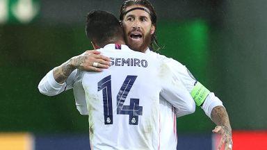 Реал се измъкна по чудо от втора загуба в Шампионска лига