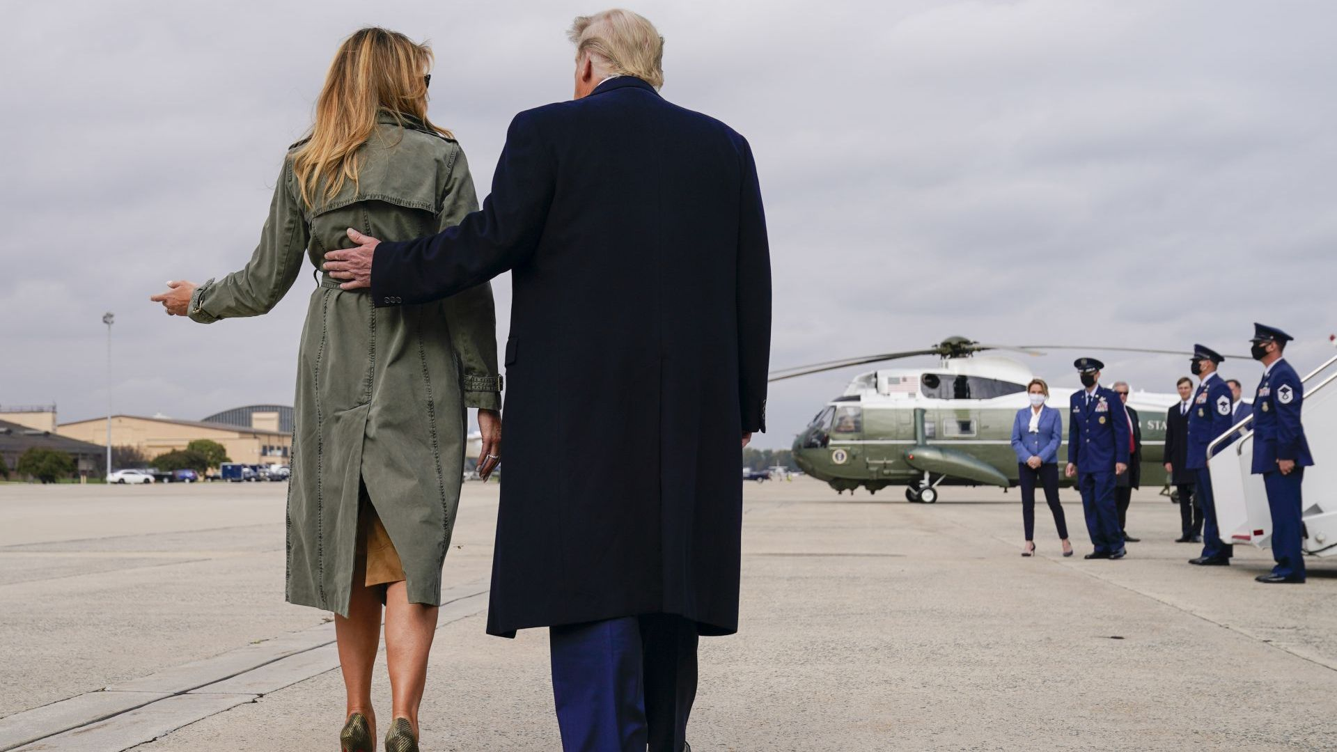 Тръмп напуска Вашингтон часове преди инаугурацията на Байдън