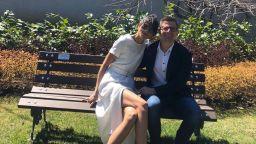 Емануела Толева и Андрей Арнаудов с мила семейна снимка