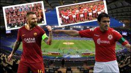 Рома срещу ЦСКА - история на битка, която някога не изглеждаше така неравностойна