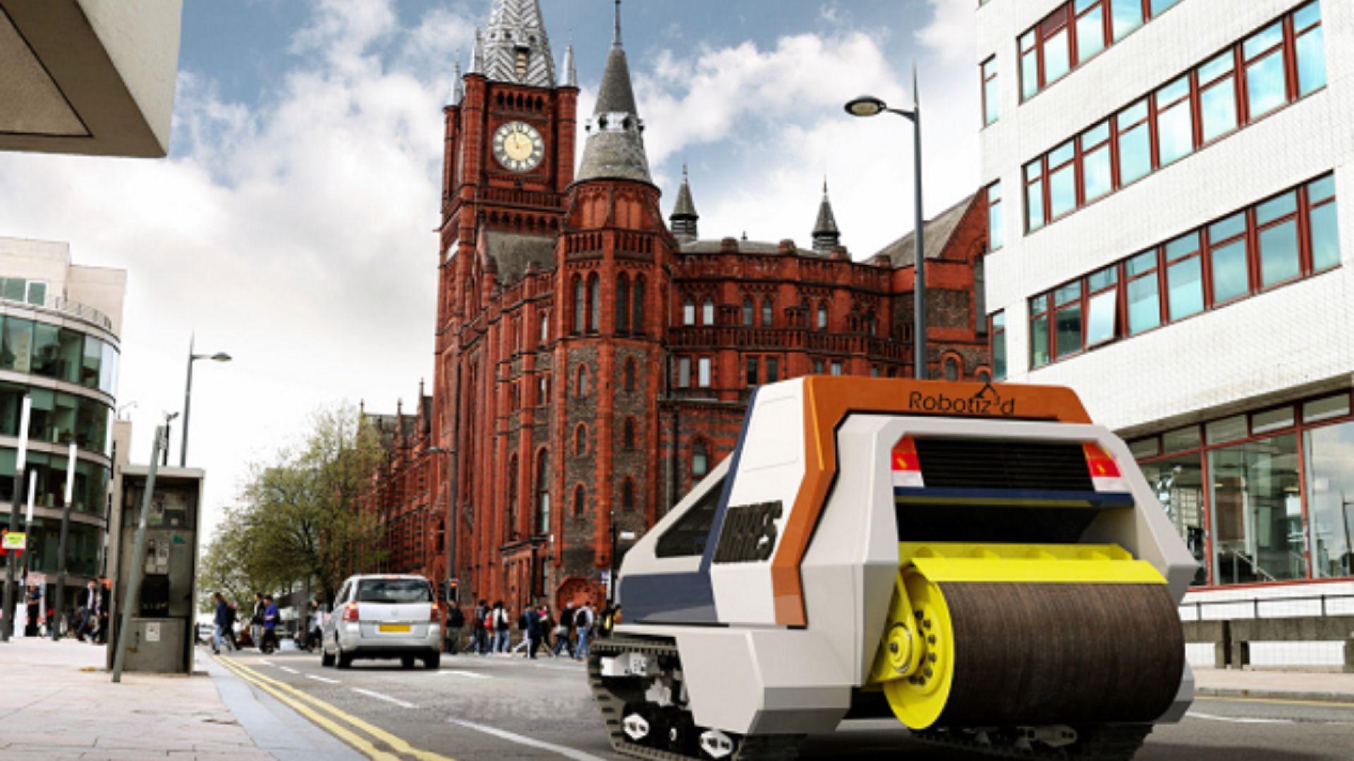 """Роботи-терминатори ще """"унищожават"""" дупките по пътищата във Великобритания"""