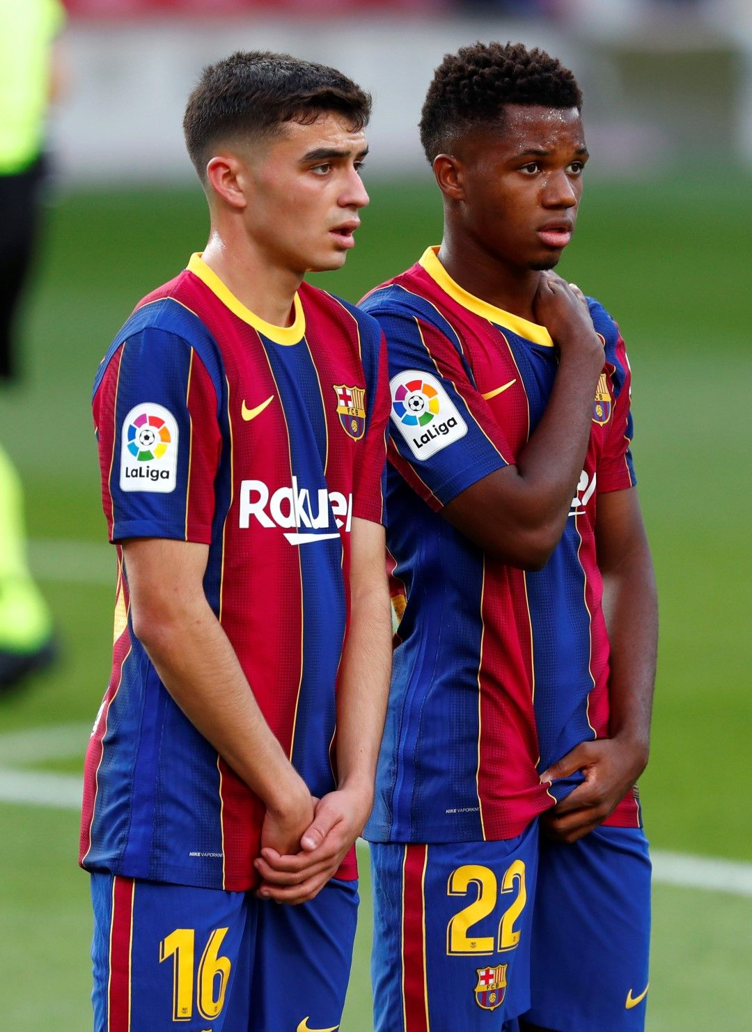 Педри и Фати - бъдещето на Барселона