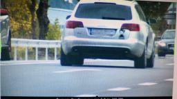 850 лева глоба за шофьор, карал с над 140 км/ч при ограничение 60 км/ч