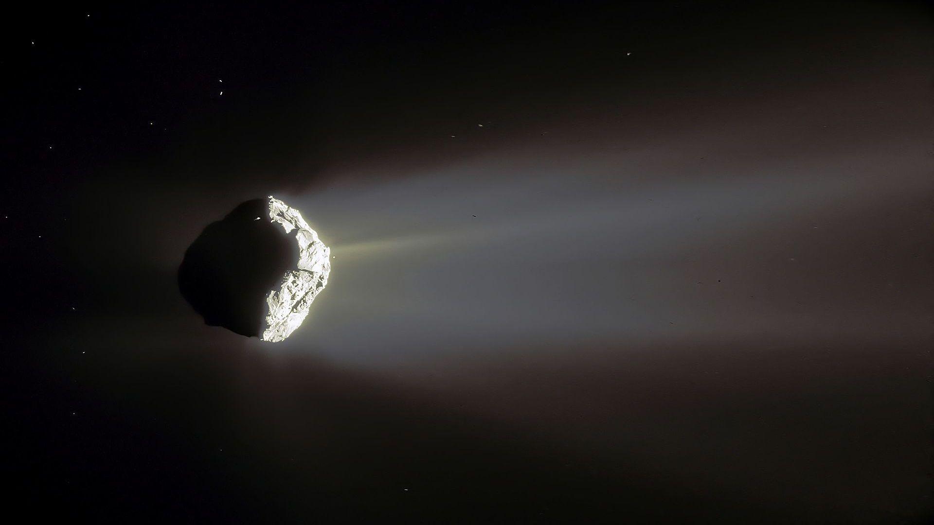 Ледът на кометата Чурюмов/Герасименко е като пяна от капучино