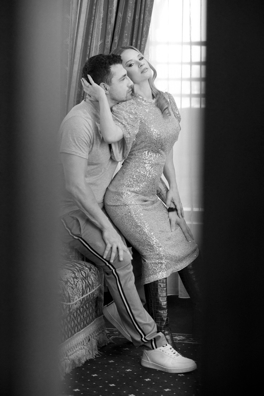 Лора и Марсел в една любовна фотоистория, реализирана с подкрепата на Polaroid
