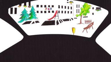 Известната чешка художничка Катержина Шеда прави проект в  градска среда в София