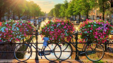 Как се справят с неправилно паркираните колела в Амстердам