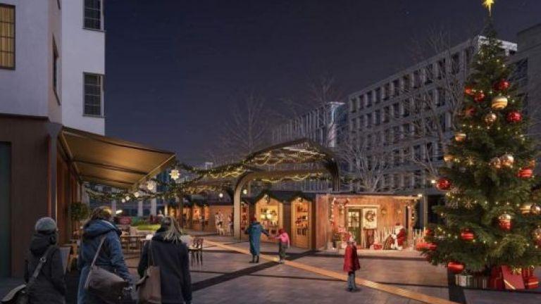 Коледният базар на София тази година ще е на площад