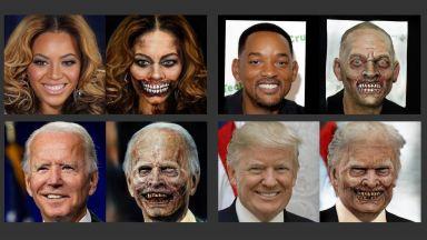 """Нов уебсайт с невронна мрежа ни """"превръща"""" в зомбита"""
