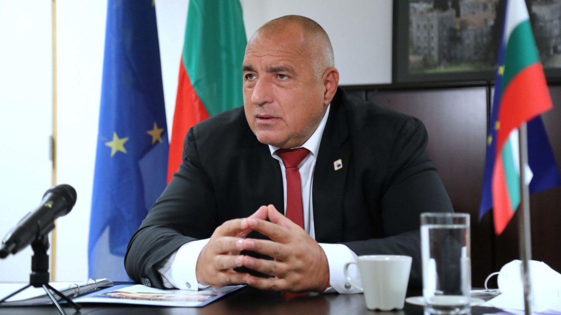 Борисов: Ще настоявам за пълна прозрачност по отношение на снабдяването с ваксините