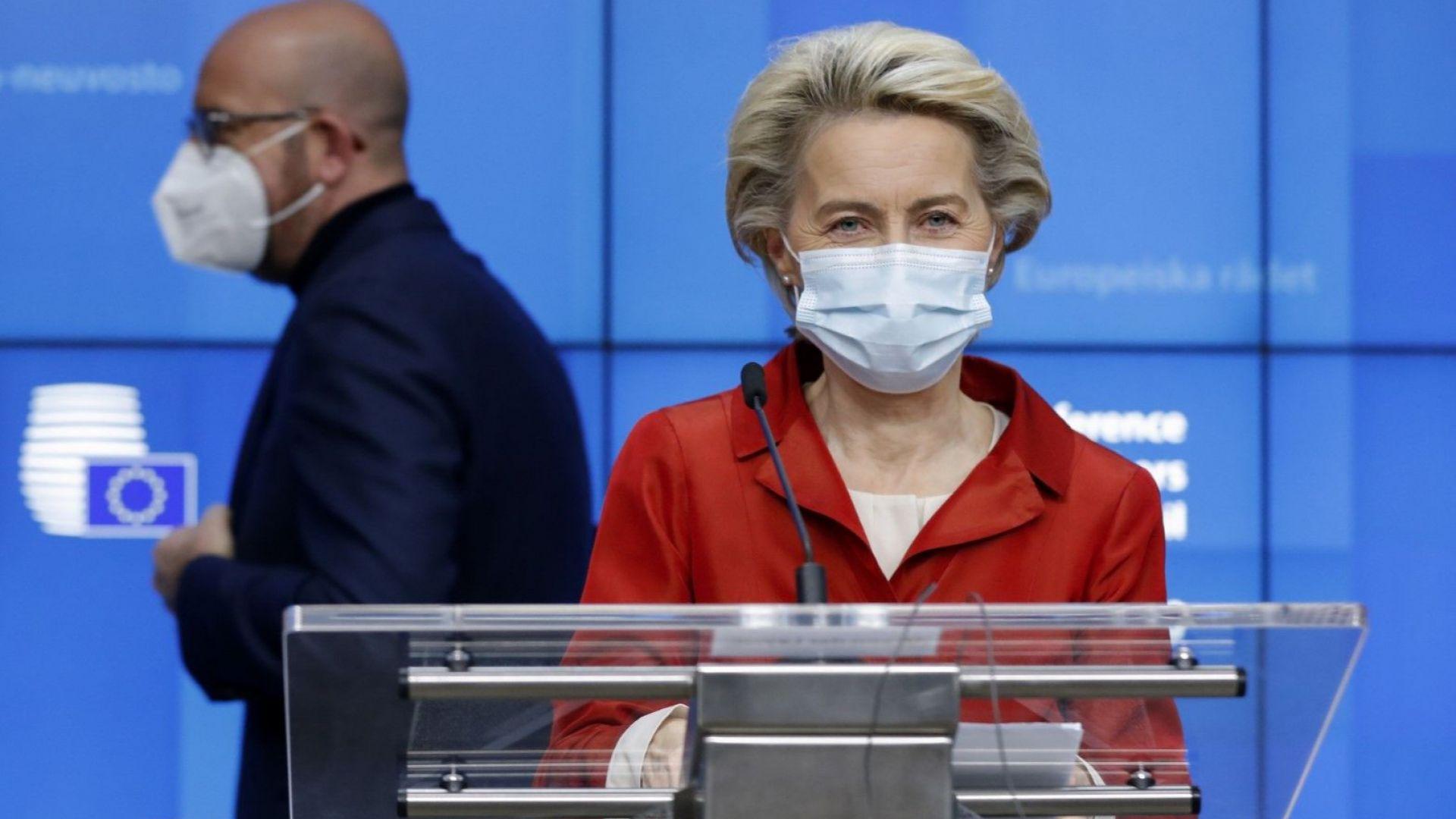 Шарл Мишел и Урсула фон дер Лайен поканиха Джо Байдън на среща с лидерите на ЕС